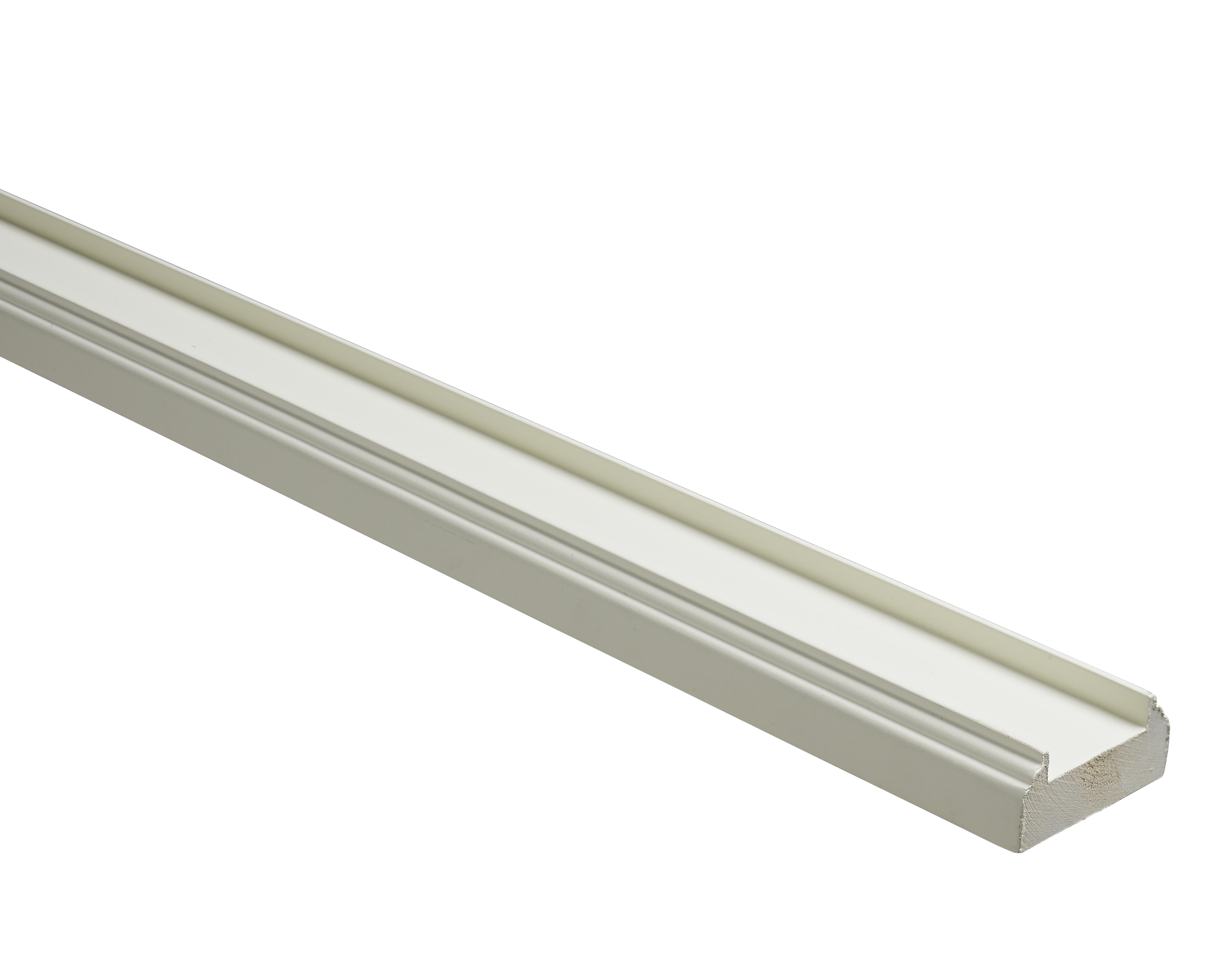 1 White Baserail Prof 3600 32