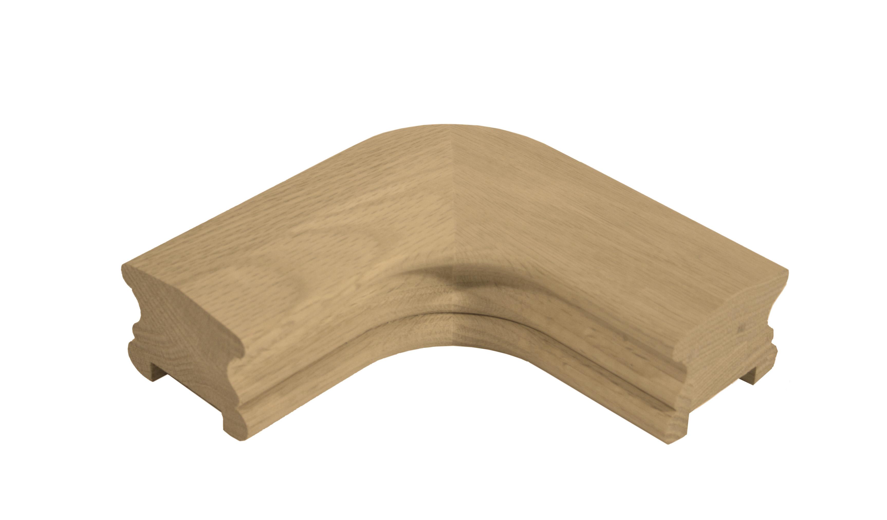 1 Classic Oak Horizontal Spindle Turn