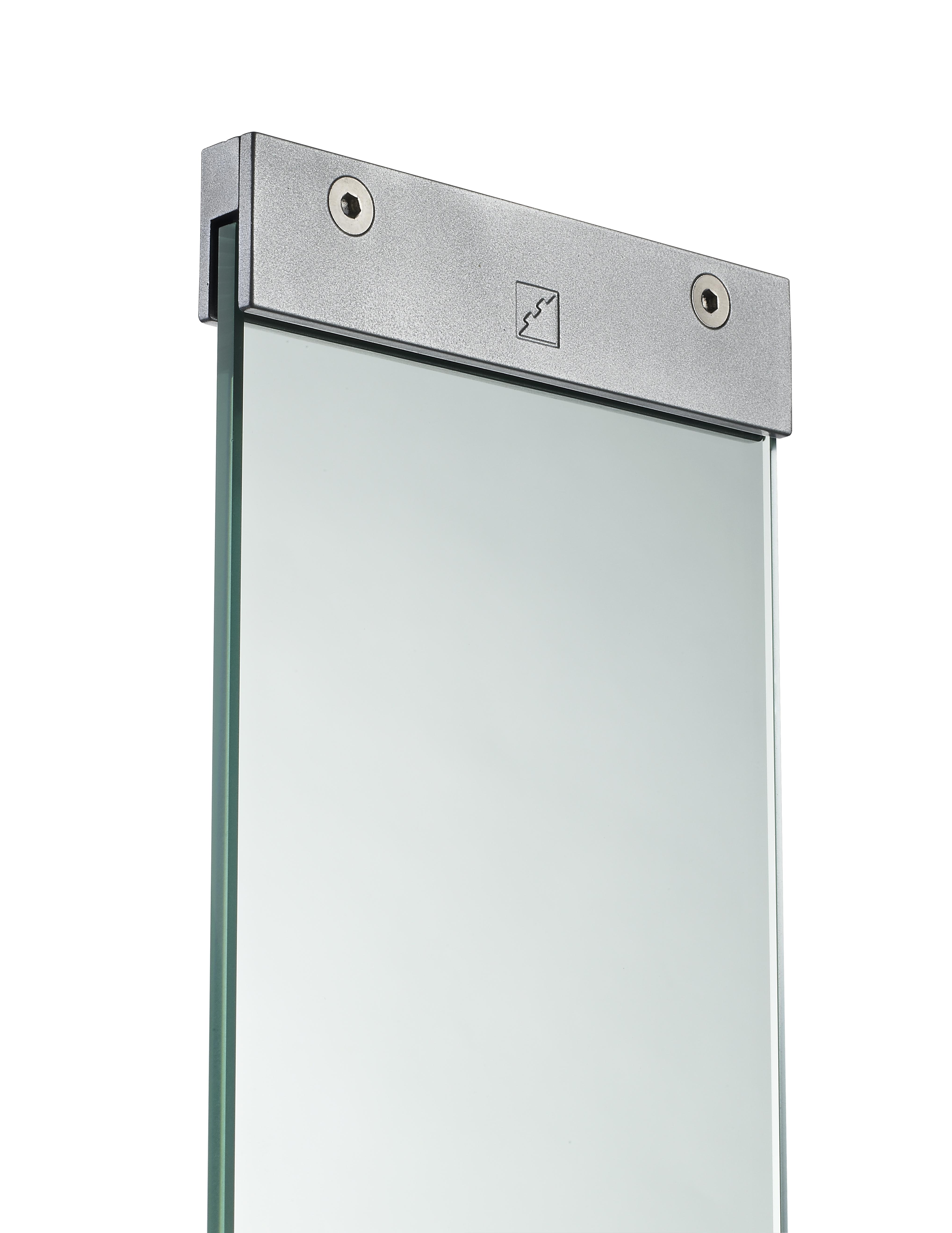 1 Glass Panel 876 Including Brackets