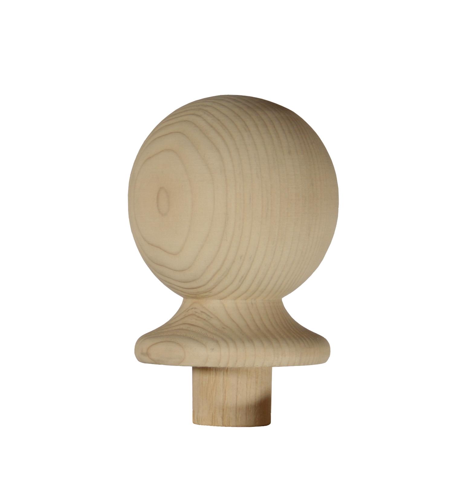 1 Hemlock Ball Newel Cap 90