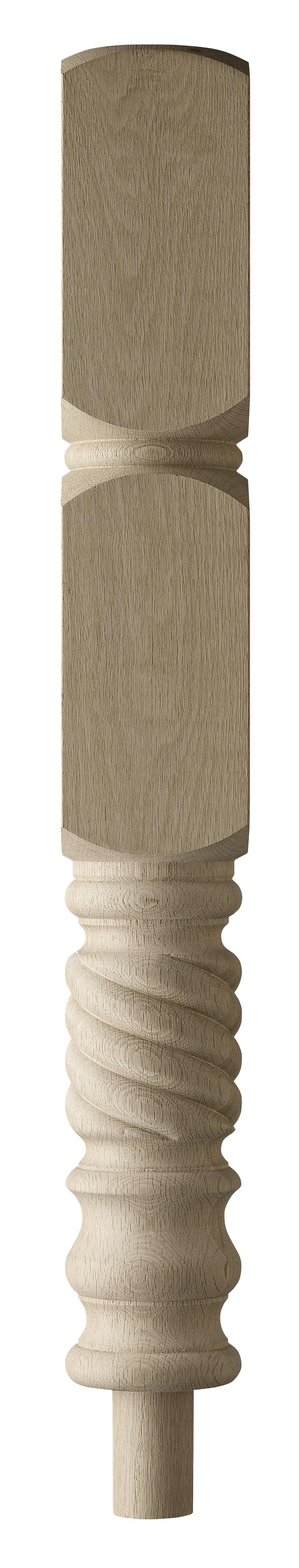 1 Oak Forston Intermediate Newel