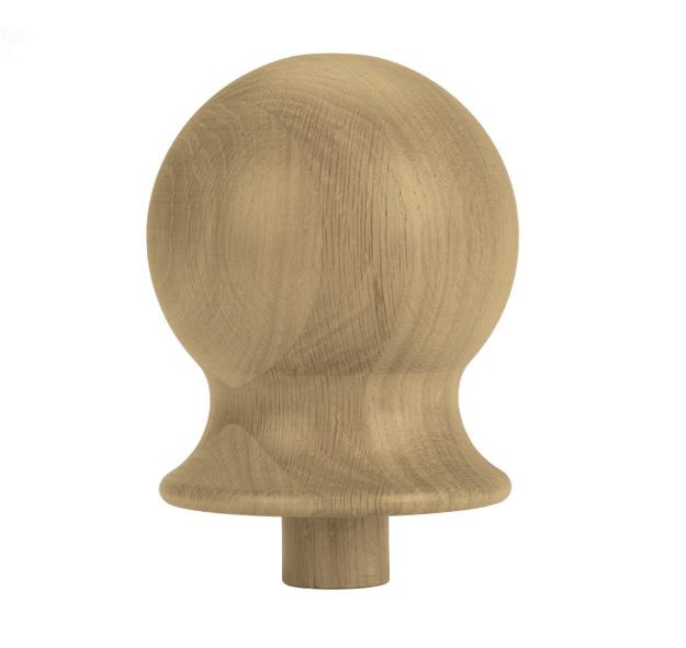 1 Oak Newel Cap