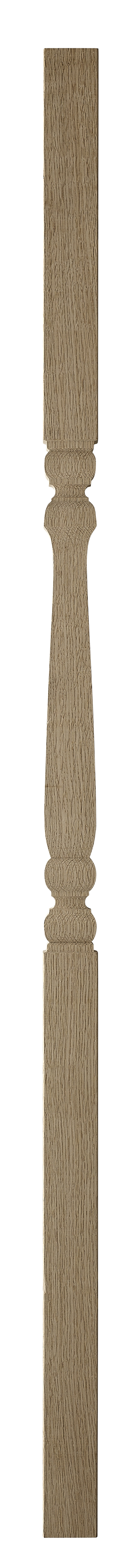 1 Oak Provincial Spindle 1100 41