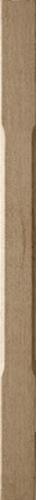1 Oak Stop Chamfer Baluster 1100 55